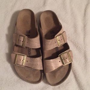 Birkenstocks worn once